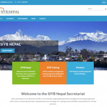 SIYB Nepal Secretariat Website